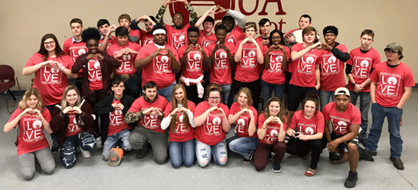 UA Cossatot Holds Seventh Annual Come Fall in Love Event for High School Juniors