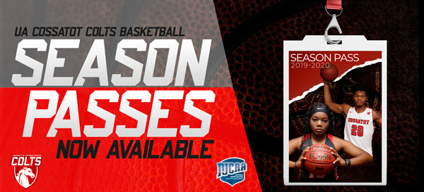 Colts Basketball Season Passes are Now Available
